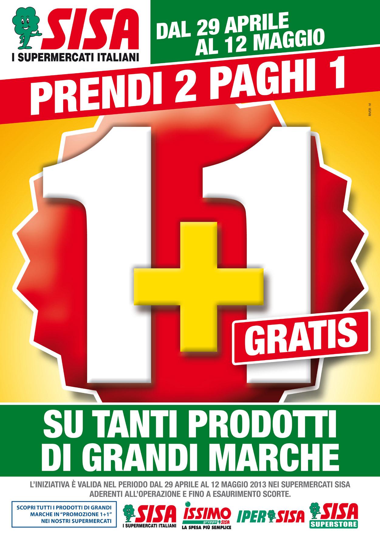 Locandina Promo 1+1