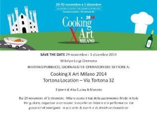 invito cooking for art