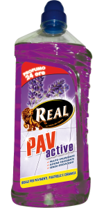 REAL Pav active lavanda 1250ml