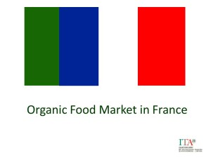 Organic Food Market in France