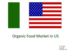 Organic Food Market in US