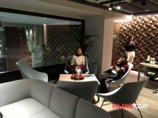 L'area lounge