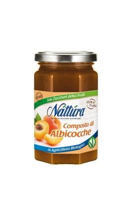 NATTURA Composta di Albicocche Bio - vaso vetro 330g