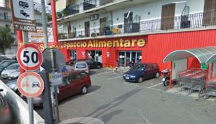 Spaccio Alimentare Che Rappresentava Il Gruppo Auchan In Sicilia Sta