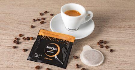Nescafé e Nestlé Professional presentano le cialde espresso con sistema ESE: il caffé come al bar direttamente a casa